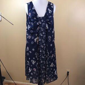 Jason Wu for Target Blue Floral Dress Large
